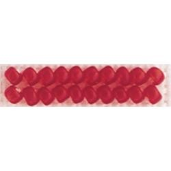 Red Red Mill Hill Frosted Glass Seed Beads 2.5mm 4.25g